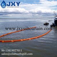 Valla de aceite de tipo flotador sólido del PVC -