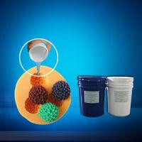 Rojo hoja Jay silicona más moldeado temperatura líquido de curado del molde de silicona -
