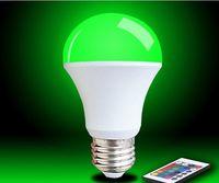ST-QP05 IR remote control RGB light bulb  -