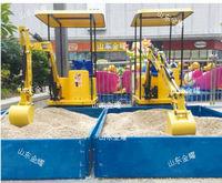 Excavador de diversión de los niños, diversión parque de maquinaria maquinaria de niños, puede ser utilizado para interior, exterior, al aire libre -