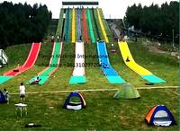 Dryland skiing -