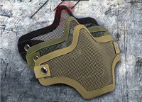 Tactical protective masks, soft bombs, half face masks new -