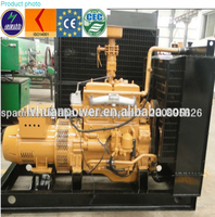 Mini power plant AC Three Phase biogas Generating Set -