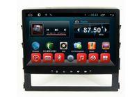 Android Car Stereo DVD Player Toyota Land Cruiser 2016 GPS RDS Radio Kitkat Systems Quad Core Factory -