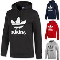 Adidas Originals Trefoil Hoodie Sports Hoody Mens Hooded Jumper Sweatshirt Top -