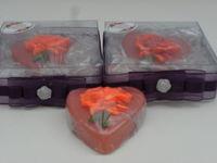 Glycerine soap - Heart Flower -