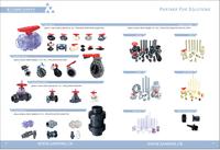Tubo-tubo-válvula de plástico PVC -