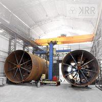 Fabrican equipos tales como recipientes a presión, equipos de transferencia de calor, receptores de aire, columnas, Torres, reactores, tuberías, Rotary hornos, horno de cáscaras, convertidores, tanques -