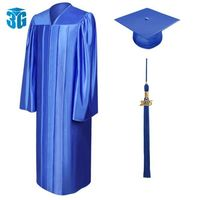 Shiny Graduation Gowns, Caps and Tassels Package -