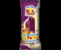 Acai Popsicle with Banana -