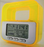 water power weather station lcd clock TCR-2689 -