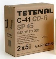 Tetenal C-41 Colour Developer Replenisher SP45 Low Rate 2 x 5L -