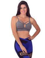 TOP FITNESS STRAPPY BRA- FITTP016 -