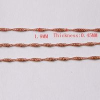 Brass rope chain -