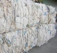 Sacos PP usados em fardos -