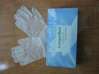 Dispsoable vinyl gloves  -