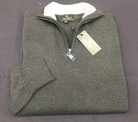 High neck % 100 cotton fashion men's sweaters -