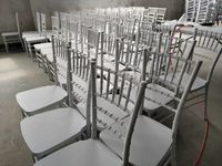 Reinforced Chair Chiavari Tiffany Metal Core -