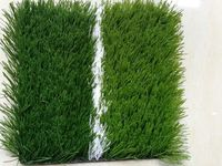 50mm high quality artificial grass for football field -