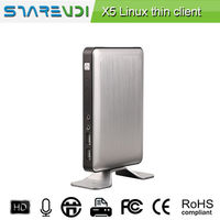 High end Green Thin Client X5 online video PC experience RDP usb printer -