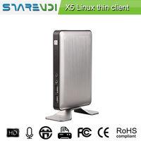 De gama alta X5 Thin Client verde de vídeo del PC en línea impresora experiencia RDP USB -
