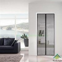 Black Magnetic Door Screen -