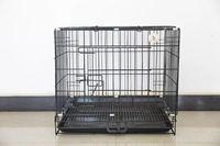 jaula del animal doméstico, fondo y el patrón de la astilla productos de negro de mascotas -