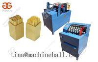 Línea de producción de un palillo de madera | Precio de la máquina de fabricación de palillos de madera -