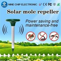 Solar convenient animal repeller outdoor animal control -
