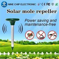 Solar convenient animal repeller outdoor animal control -