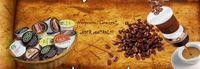 coffee capsule K cup foil lid -