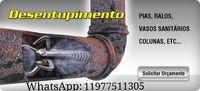 Desentupidora in the city (11) 4253-2687 waterjet and vacuum -