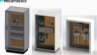 Modelagem Maquete Eletrônica 3D, CATIA / SolidWorks / CAD -